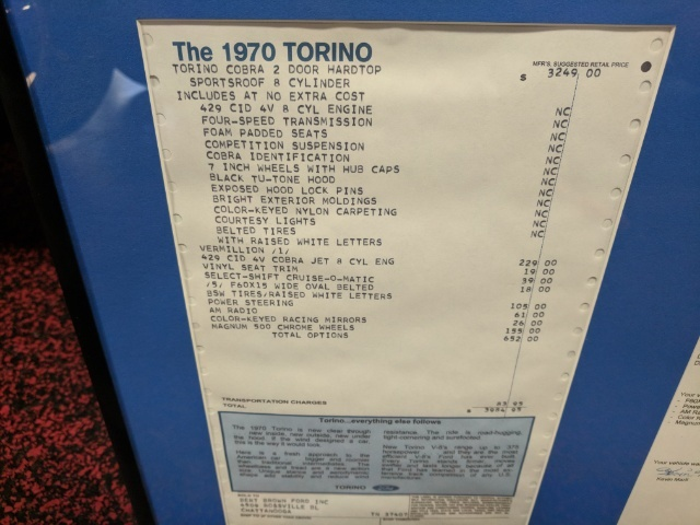 1970 Ford Torino Cobra Jet J Code - Photo 47 - Bismarck, ND 58503