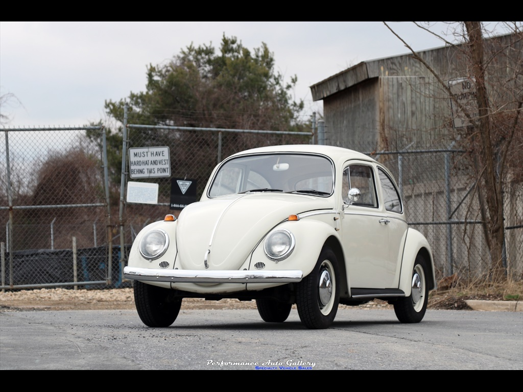 1966 Volkswagen Beetle Classic 1300 Coupe For Sale In Gaithersburg Md Stock A00219