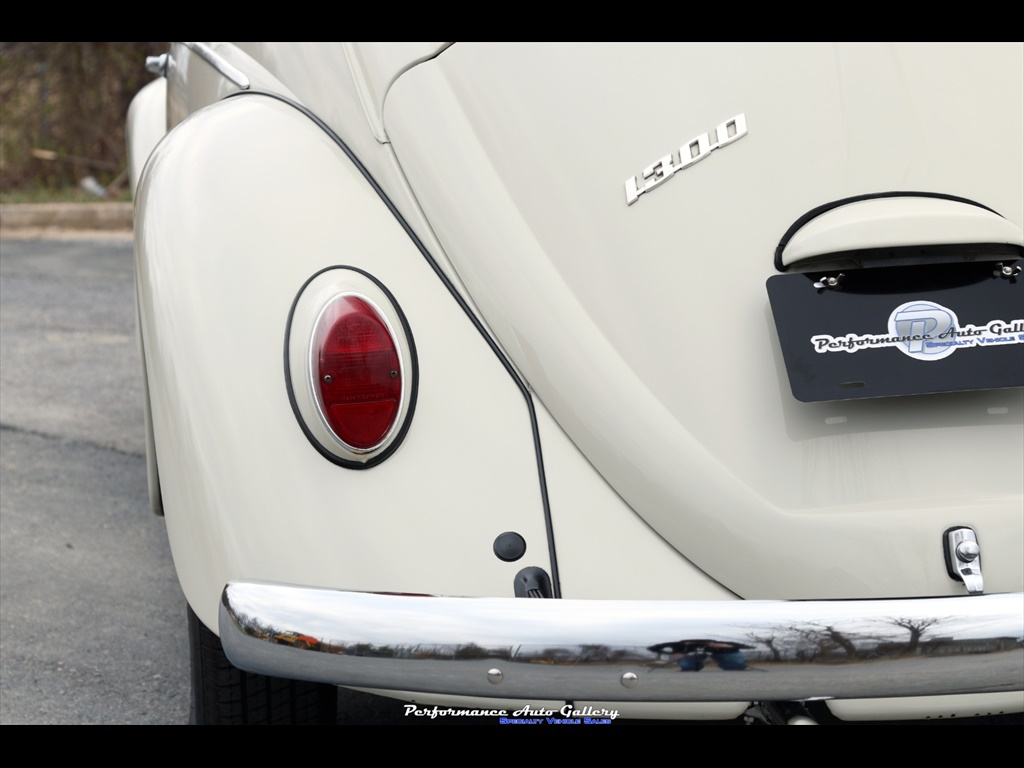 1966 Volkswagen Beetle-Classic 1300 Coupe - Photo 22 - Gaithersburg, MD 20879