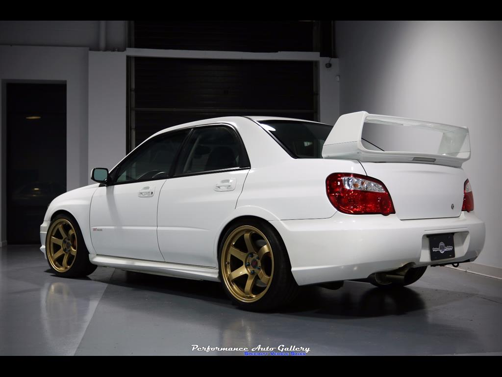 2005 subaru impreza wrx sti for sale in gaithersburg md stock a00134. Black Bedroom Furniture Sets. Home Design Ideas