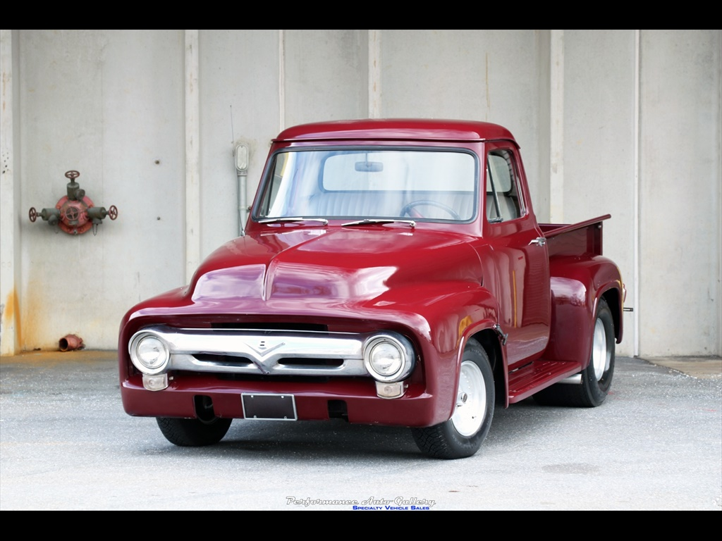 1956 Ford F 100 Custom For Sale In Gaithersburg Md Stock A00214 1955 F100 With Mickey Thompsons Photo 3 20879