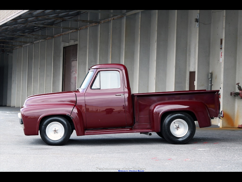 1956 Ford F 100 Custom For Sale In Gaithersburg Md Stock A00214 1955 F100 With Mickey Thompsons Photo 7 20879