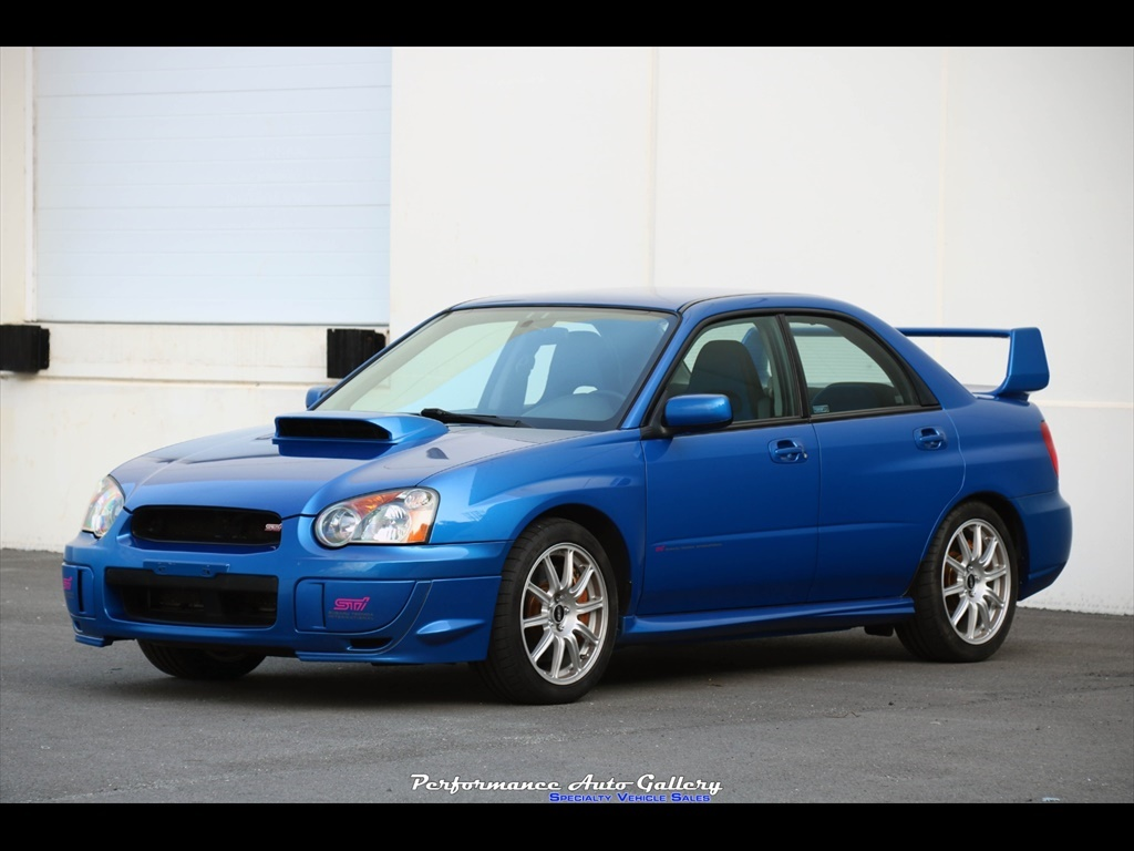 2004 subaru impreza wrx sti for sale in gaithersburg md stock a00245 2004 subaru impreza wrx sti for sale in