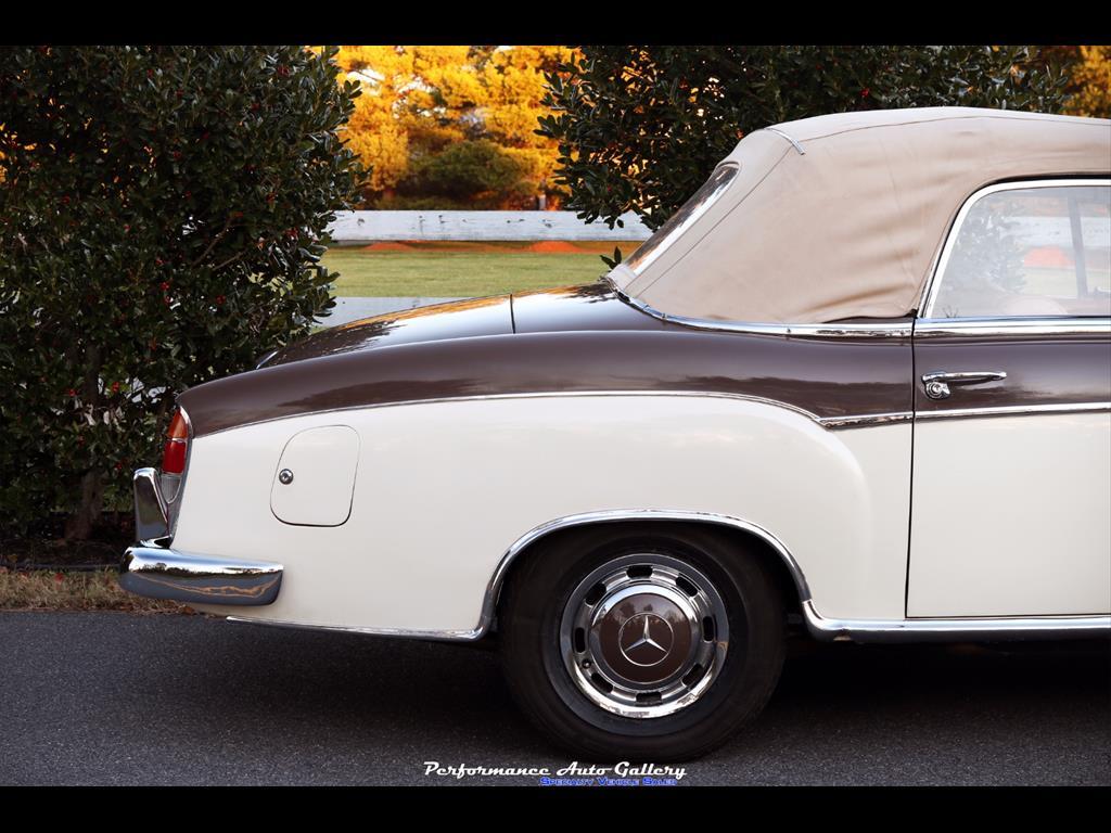 1957 Mercedes-Benz 220s Cabrio - Photo 15 - Gaithersburg, MD 20879