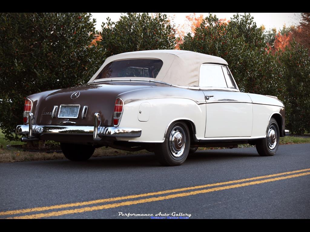 1957 Mercedes-Benz 220s Cabrio - Photo 16 - Gaithersburg, MD 20879