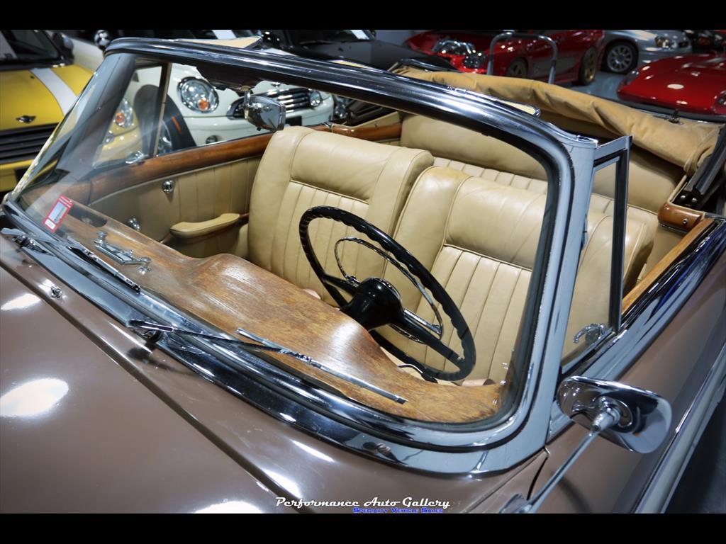1957 Mercedes-Benz 220s Cabrio - Photo 41 - Gaithersburg, MD 20879