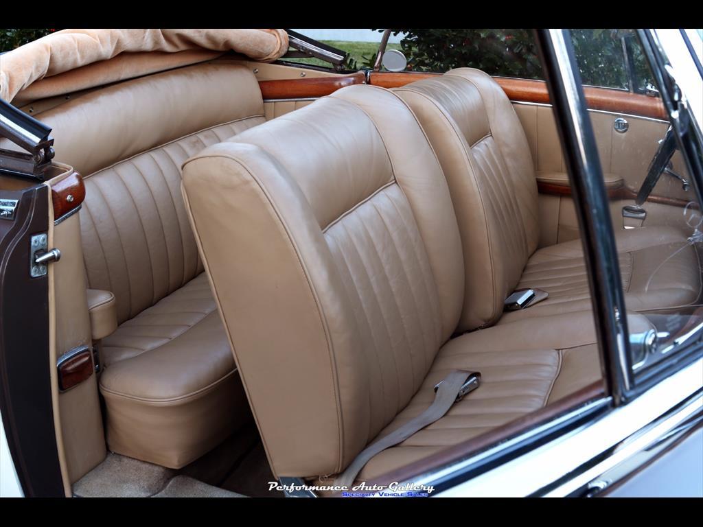 1957 Mercedes-Benz 220s Cabrio - Photo 19 - Gaithersburg, MD 20879