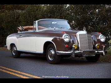 1957 Mercedes-Benz 220s Cabrio Convertible
