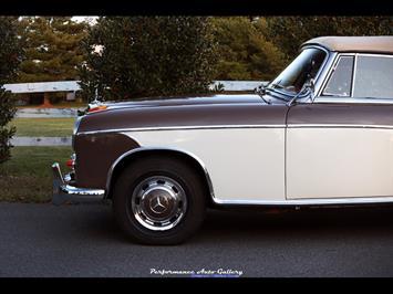 1957 Mercedes-Benz 220s Cabrio - Photo 8 - Gaithersburg, MD 20879