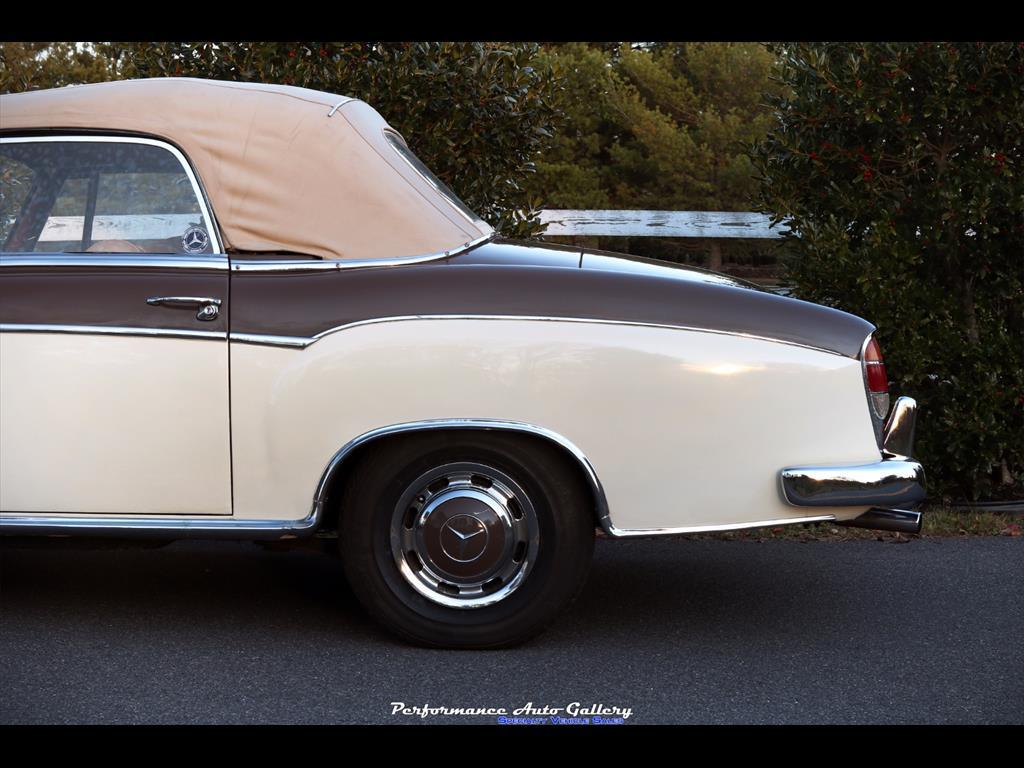 1957 Mercedes-Benz 220s Cabrio - Photo 7 - Gaithersburg, MD 20879