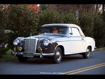 1957 Mercedes-Benz 220s Cabrio - Photo 6 - Gaithersburg, MD 20879