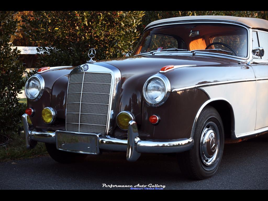 1957 Mercedes-Benz 220s Cabrio - Photo 9 - Gaithersburg, MD 20879