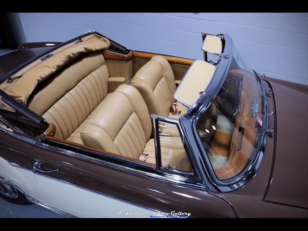 1957 Mercedes-Benz 220s Cabrio - Photo 36 - Gaithersburg, MD 20879
