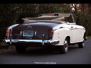 1957 Mercedes-Benz 220s Cabrio - Photo 5 - Gaithersburg, MD 20879