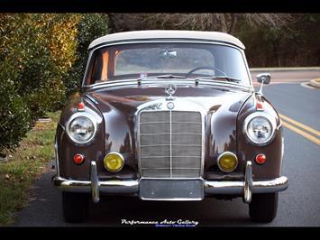 1957 Mercedes-Benz 220s Cabrio - Photo 2 - Gaithersburg, MD 20879