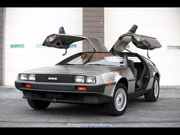 1983 DeLorean DMC-12 Coupe