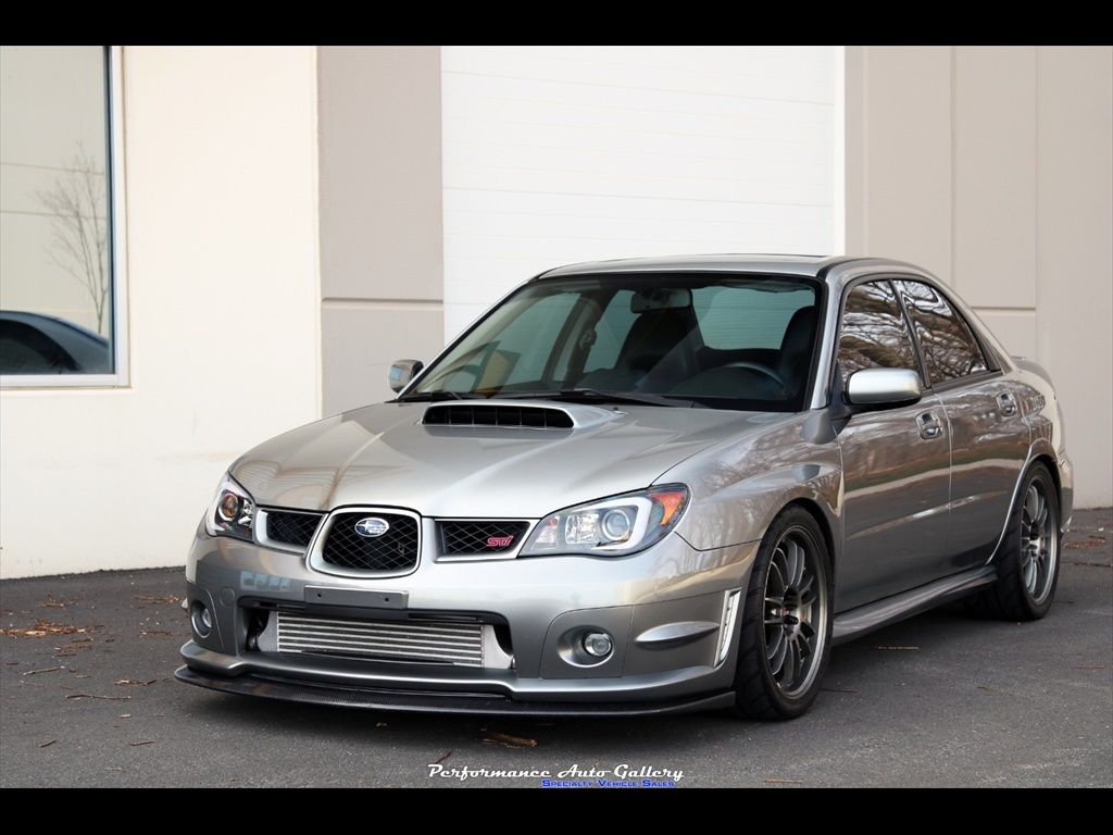 2007 subaru impreza wrx sti limited for sale in gaithersburg md stock a00210. Black Bedroom Furniture Sets. Home Design Ideas