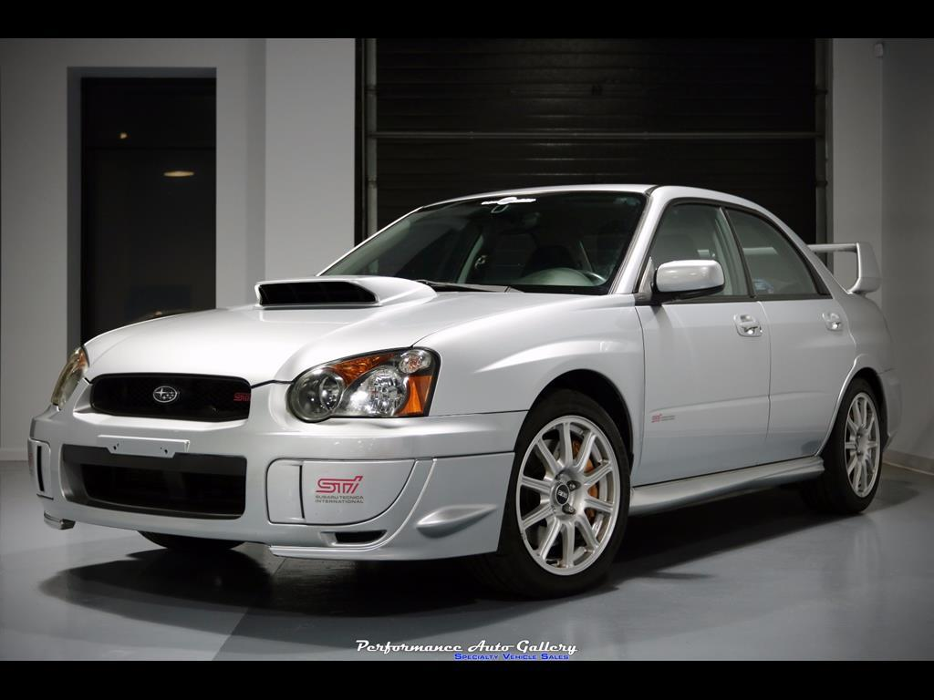 2005 subaru impreza wrx sti for sale in gaithersburg md stock a00127. Black Bedroom Furniture Sets. Home Design Ideas