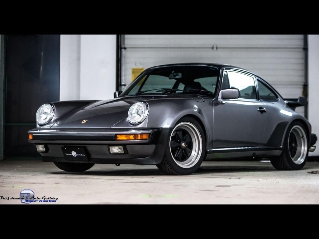 1986 porsche 911 carrera turbo for sale in gaithersburg md stock a00102. Black Bedroom Furniture Sets. Home Design Ideas