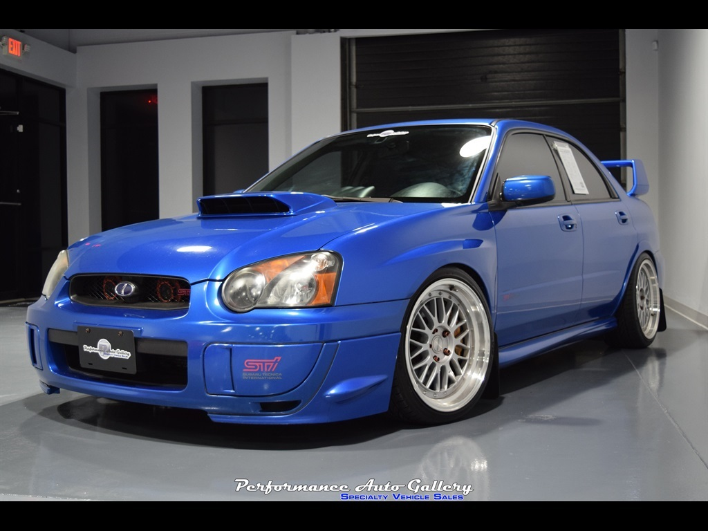 Sti For Sale >> 2005 Subaru Impreza Wrx Sti For Sale In Gaithersburg Md Stock