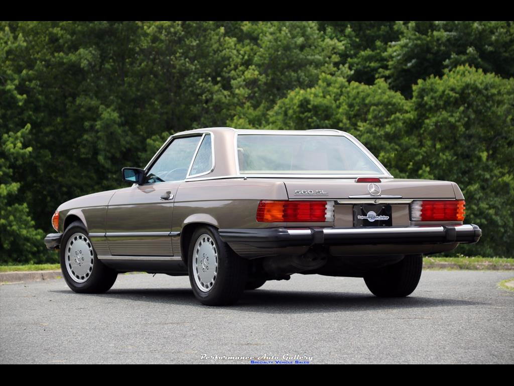 1989 Mercedes-Benz 560SL - Photo 2 - Gaithersburg, MD 20879