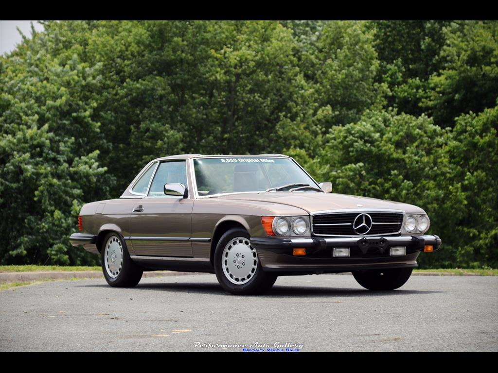 1989 Mercedes-Benz 560SL - Photo 1 - Gaithersburg, MD 20879