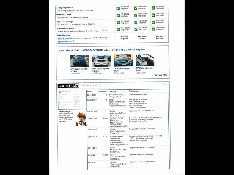 2007 Subaru Impreza WRX STI - Photo 39 - Gaithersburg, MD 20879