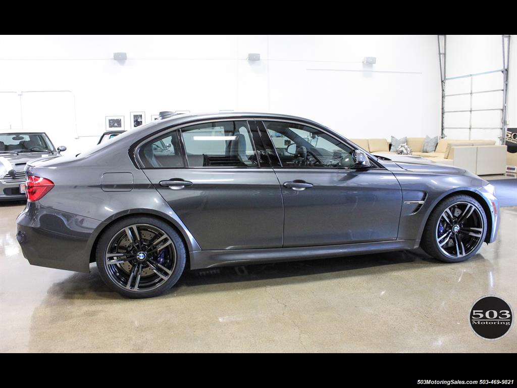 2016 BMW M3 Loaded Spec in Stunning Mineral Gray. Warranty