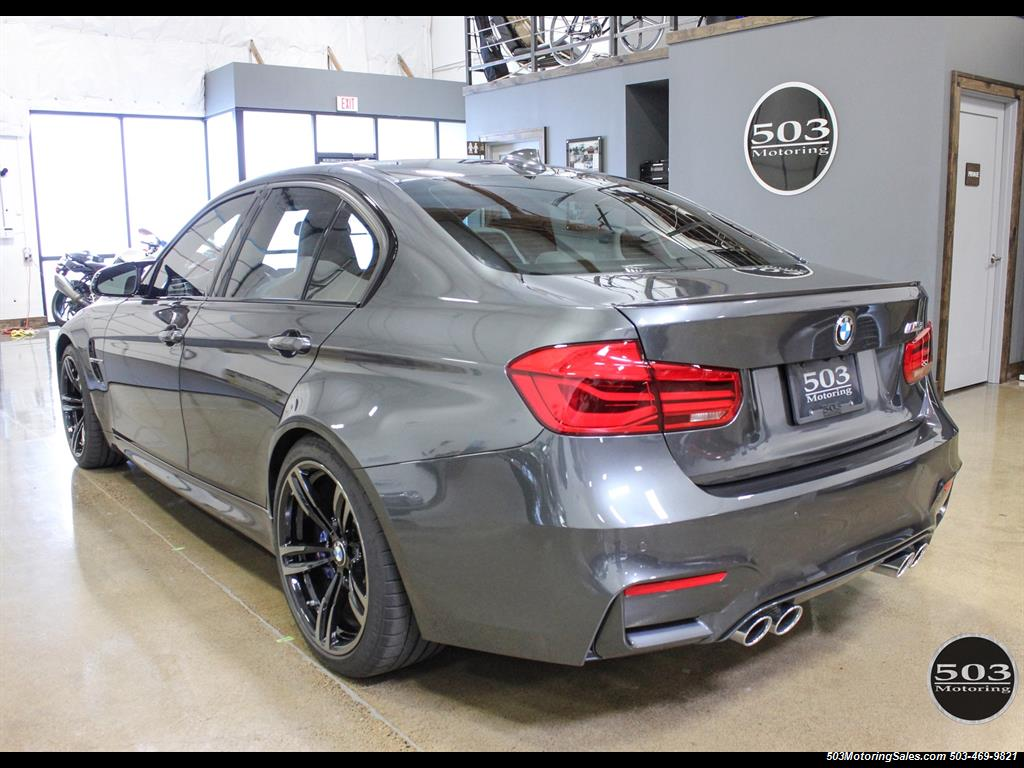 2016 bmw m3 loaded spec in stunning mineral gray w 3k miles. Black Bedroom Furniture Sets. Home Design Ideas