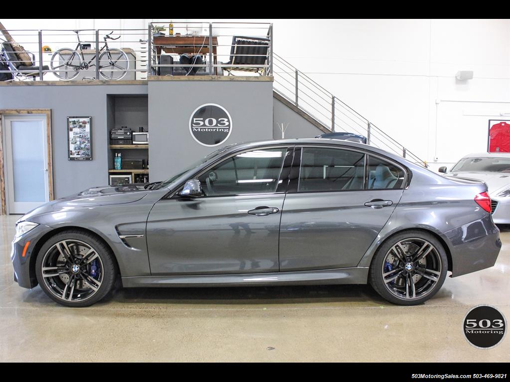 2016 Bmw M3 Loaded Spec In Stunning Mineral Gray W 3k Miles