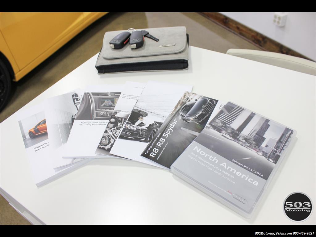 2014 Audi R8 4.2 quattro; Loaded Spec Manual in Suzuka Gray! - Photo 51 - Beaverton, OR 97005