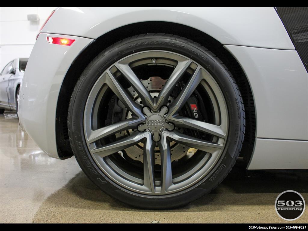 2014 Audi R8 4.2 quattro; Loaded Spec Manual in Suzuka Gray! - Photo 27 - Beaverton, OR 97005