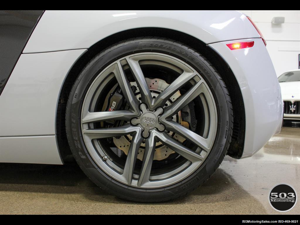 2014 Audi R8 4.2 quattro; Loaded Spec Manual in Suzuka Gray! - Photo 26 - Beaverton, OR 97005