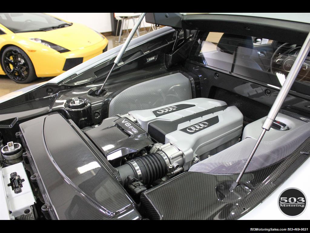 2014 Audi R8 4.2 quattro; Loaded Spec Manual in Suzuka Gray! - Photo 45 - Beaverton, OR 97005