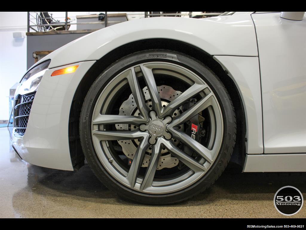 2014 Audi R8 4.2 quattro; Loaded Spec Manual in Suzuka Gray! - Photo 25 - Beaverton, OR 97005