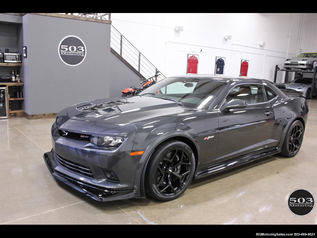 2015 chevrolet camaro z28 only 570 miles. Black Bedroom Furniture Sets. Home Design Ideas