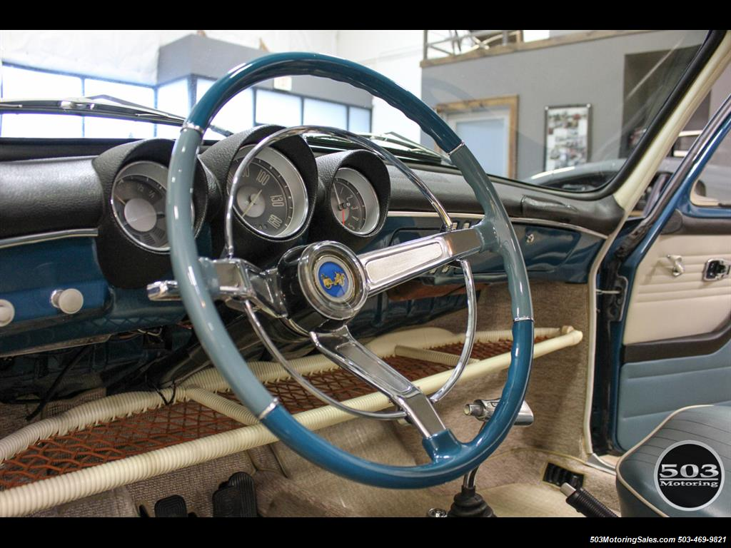 1965 Volkswagen Notchback Collector Quality Example in Sea Blue - Photo 22 - Beaverton, OR 97005