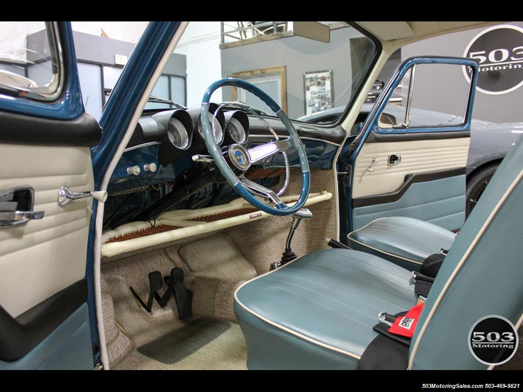 1965 Volkswagen Notchback Collector Quality Example in Sea Blue - Photo 21 - Beaverton, OR 97005