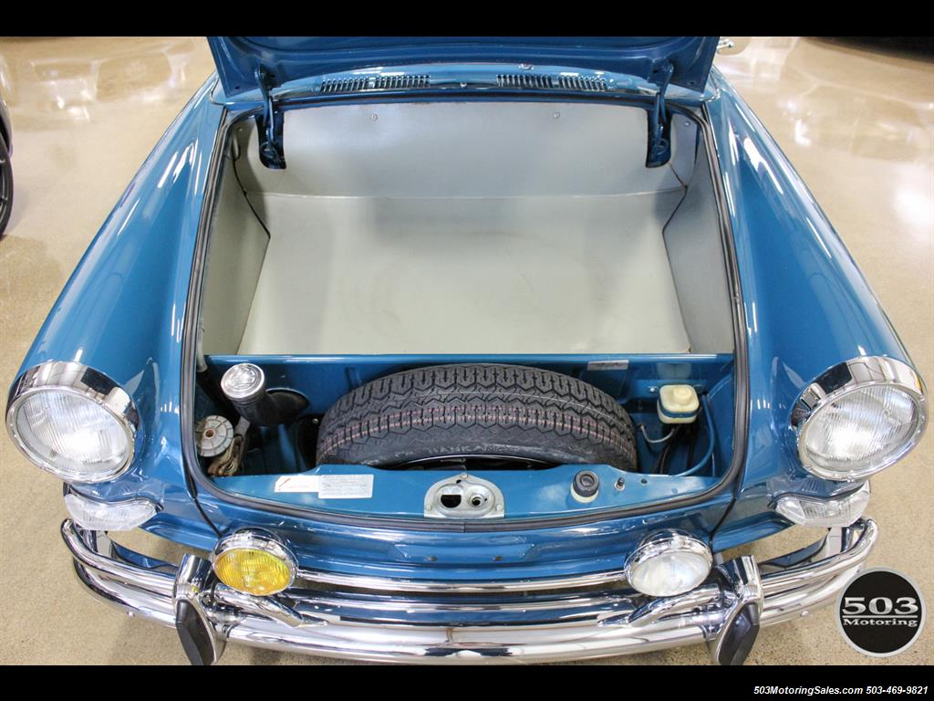 1965 Volkswagen Notchback Collector Quality Example in Sea Blue - Photo 53 - Beaverton, OR 97005