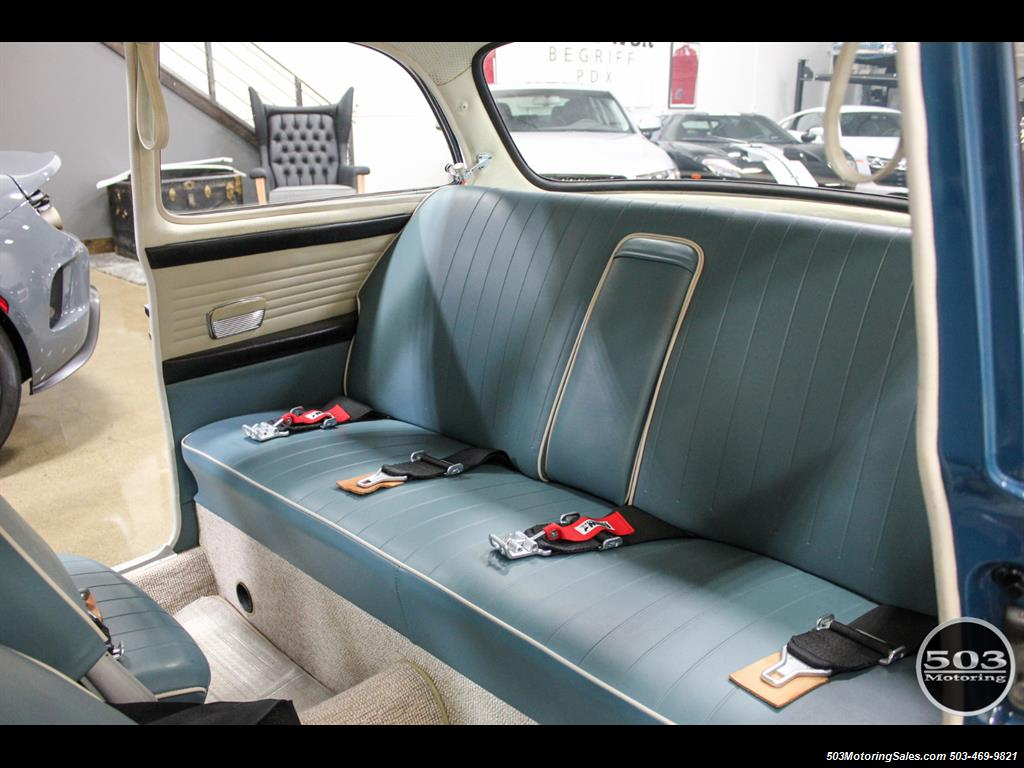 1965 Volkswagen Notchback Collector Quality Example in Sea Blue - Photo 36 - Beaverton, OR 97005