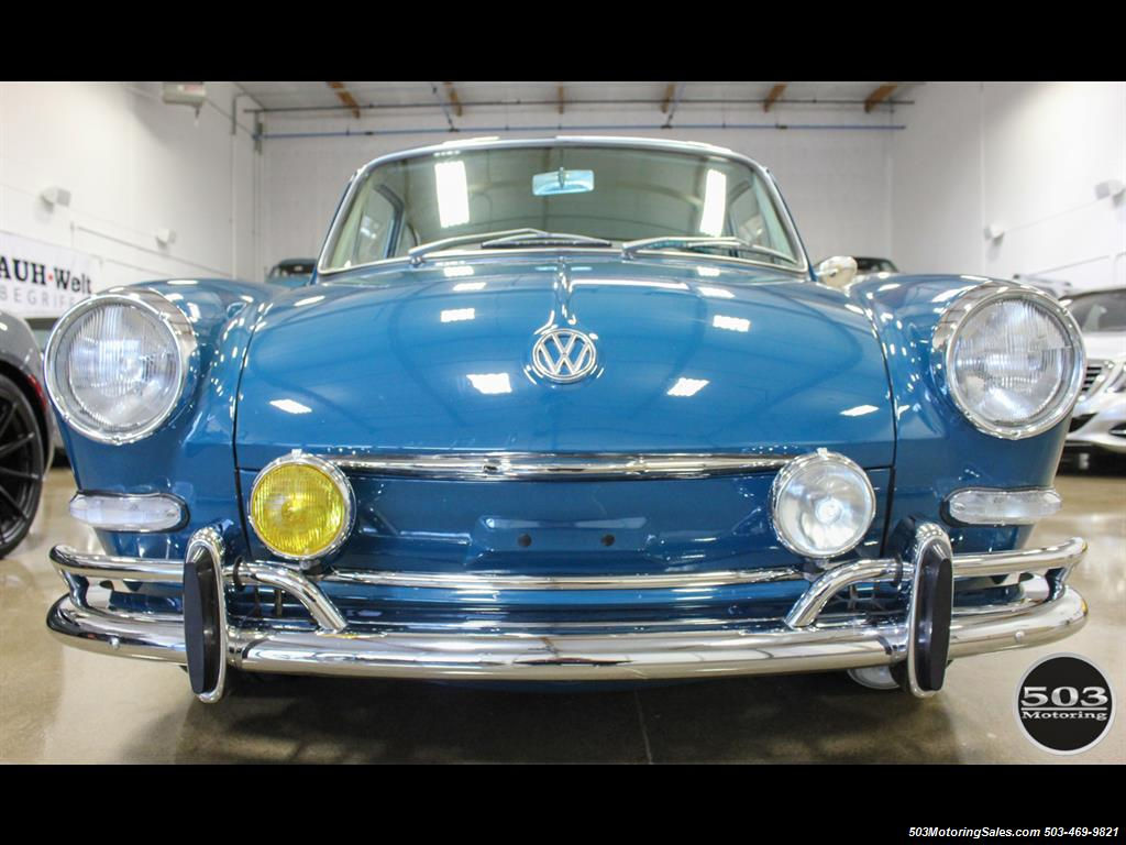 1965 Volkswagen Notchback Collector Quality Example in Sea Blue - Photo 8 - Beaverton, OR 97005