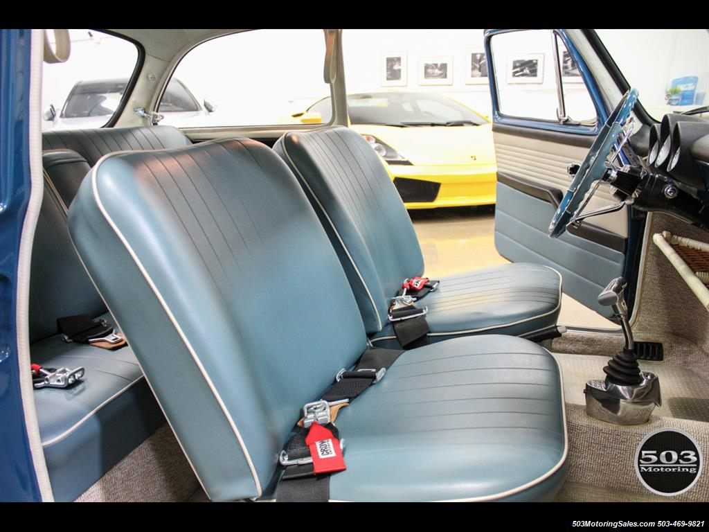 1965 Volkswagen Notchback Collector Quality Example in Sea Blue - Photo 32 - Beaverton, OR 97005