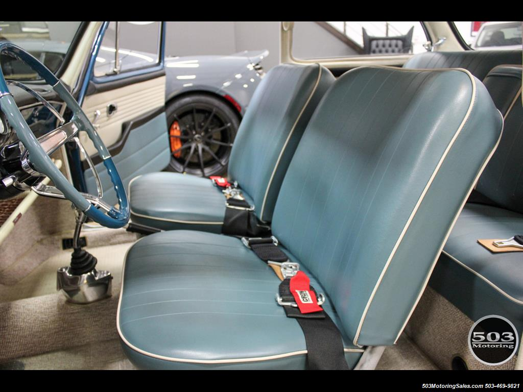 1965 Volkswagen Notchback Collector Quality Example in Sea Blue - Photo 24 - Beaverton, OR 97005
