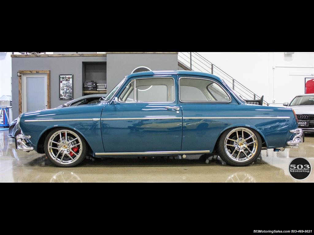 1965 Volkswagen Notchback Collector Quality Example in Sea Blue - Photo 2 - Beaverton, OR 97005