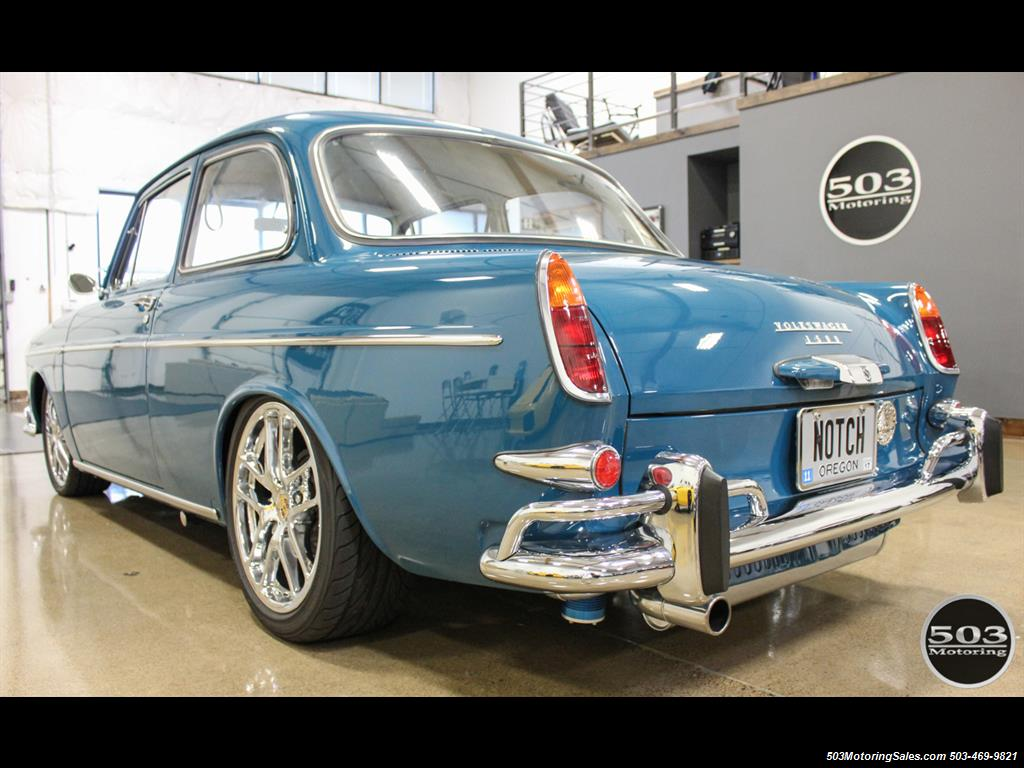 1965 Volkswagen Notchback Collector Quality Example in Sea Blue - Photo 3 - Beaverton, OR 97005