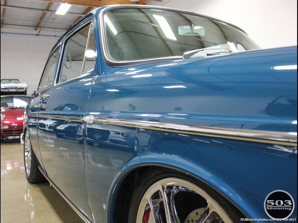 1965 Volkswagen Notchback Collector Quality Example in Sea Blue - Photo 10 - Beaverton, OR 97005