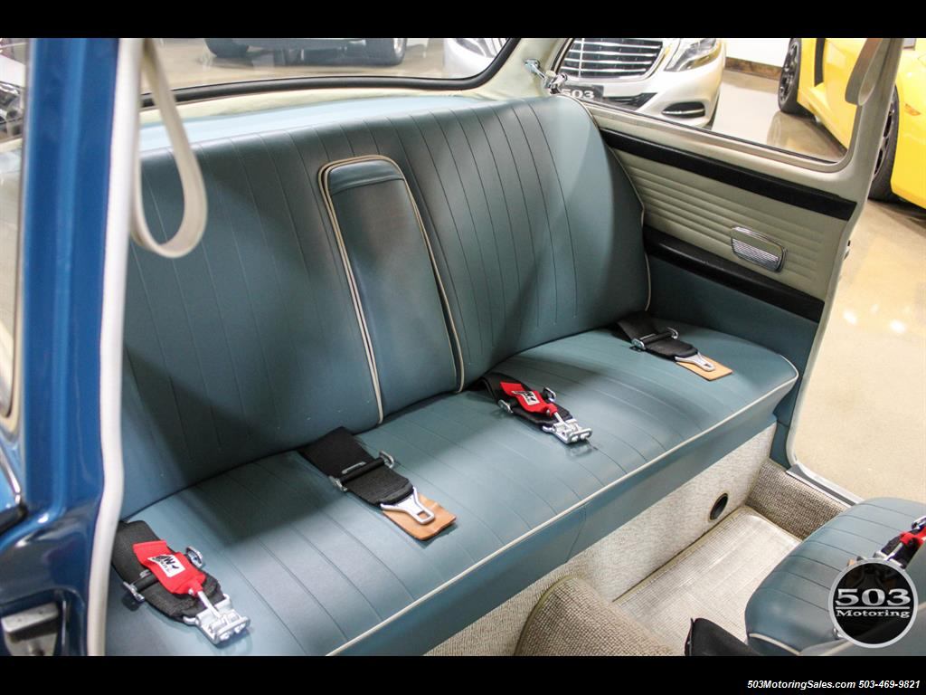 1965 Volkswagen Notchback Collector Quality Example in Sea Blue - Photo 37 - Beaverton, OR 97005