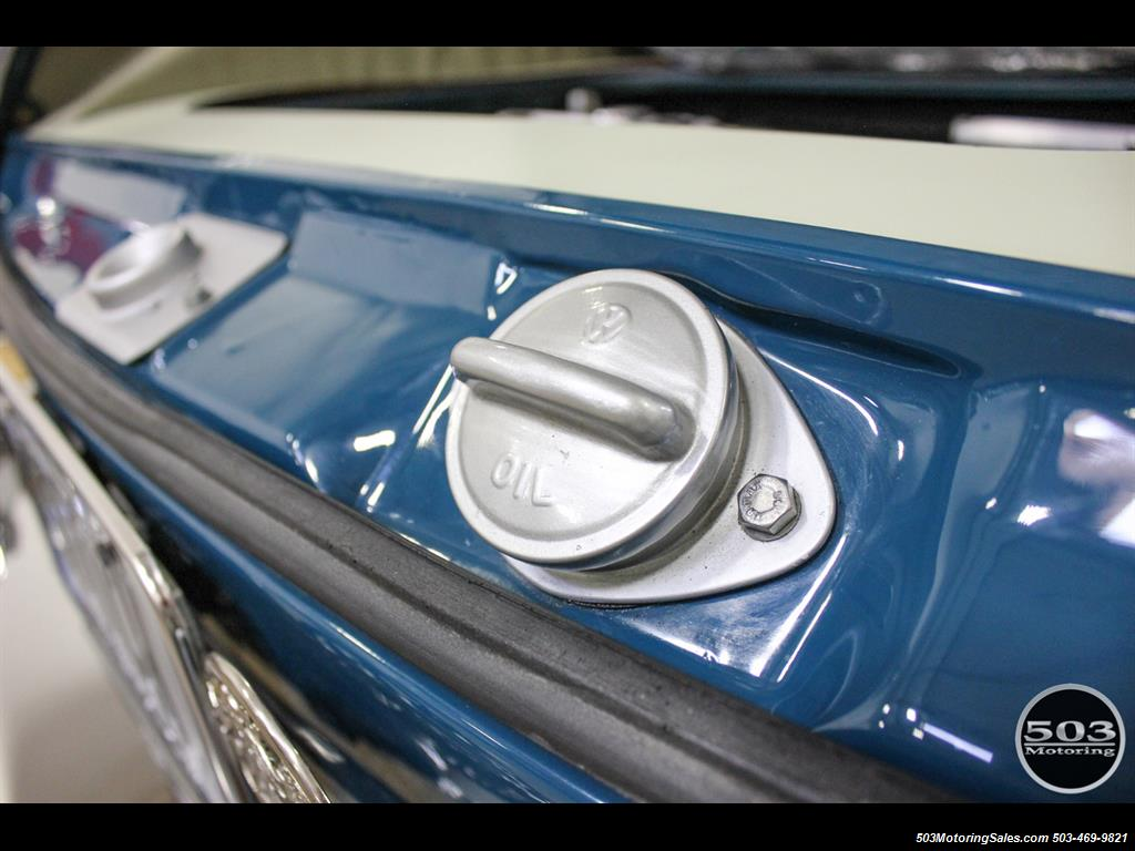 1965 Volkswagen Notchback Collector Quality Example in Sea Blue - Photo 43 - Beaverton, OR 97005