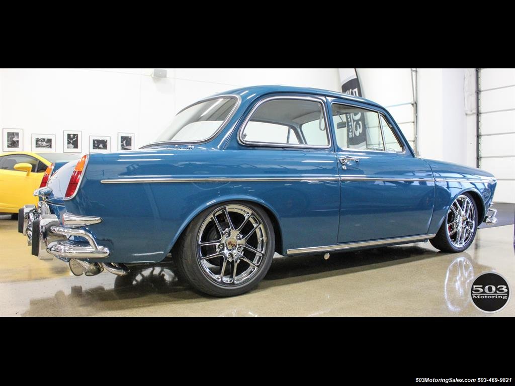 1965 Volkswagen Notchback Collector Quality Example in Sea Blue - Photo 6 - Beaverton, OR 97005