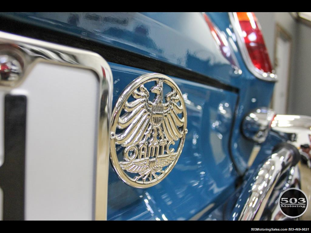 1965 Volkswagen Notchback Collector Quality Example in Sea Blue - Photo 20 - Beaverton, OR 97005